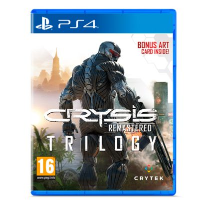Crysis Remastered Trilogy - PS4