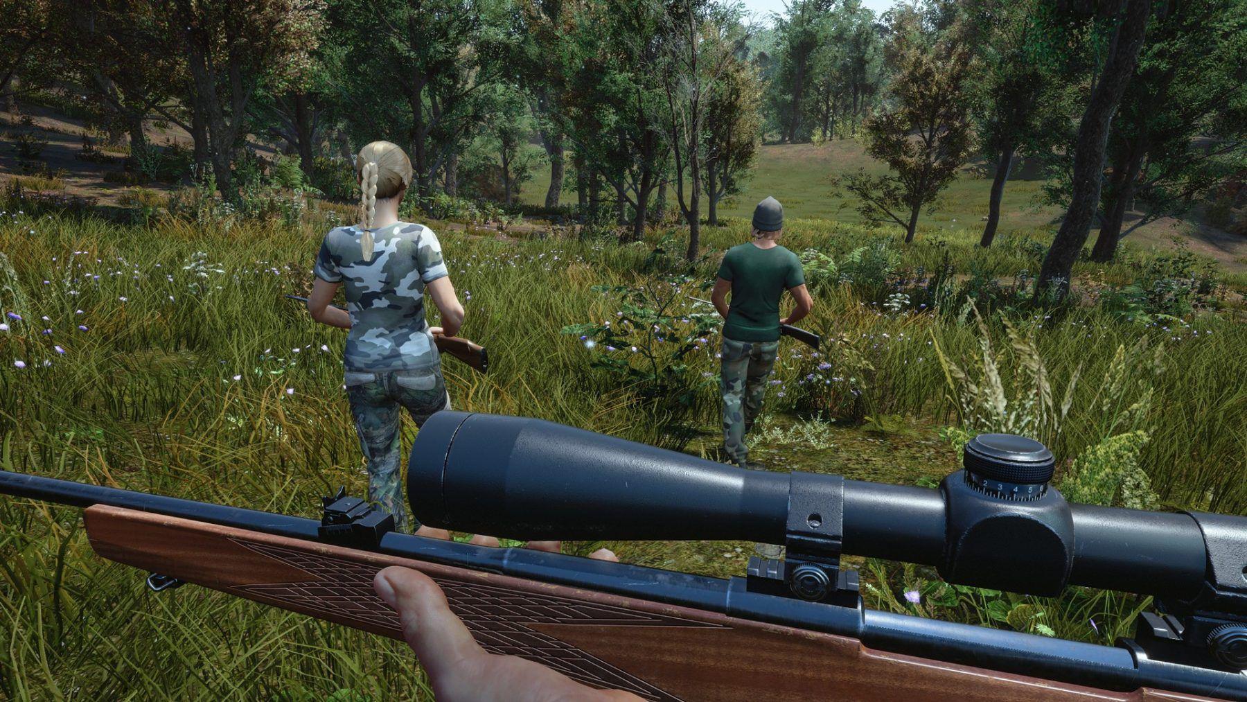 خرید بازی hunting simulator2 پلی استیشن 5