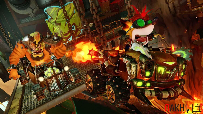 خرید بازی crash team racing برای ps4