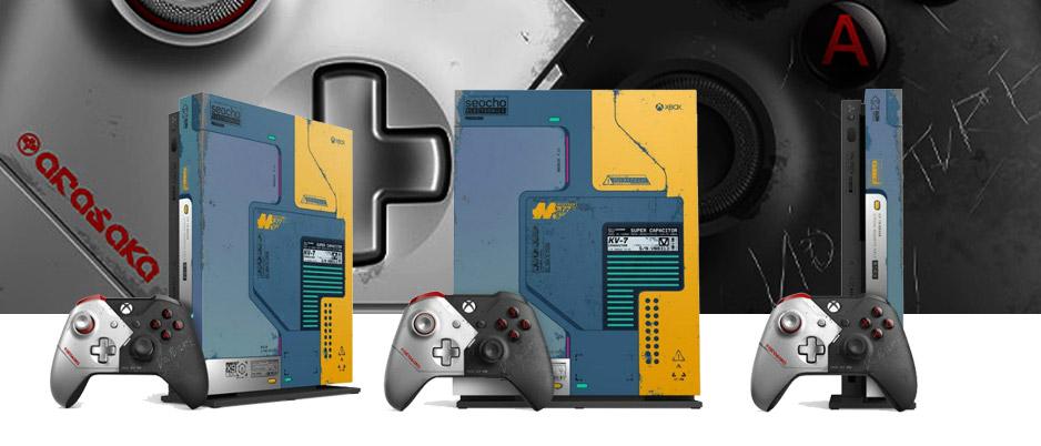 خرید xbox cyberpunk 2077