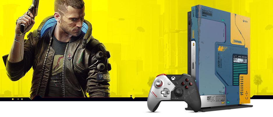 خرید xbox one x باندل cyberpunk 2077