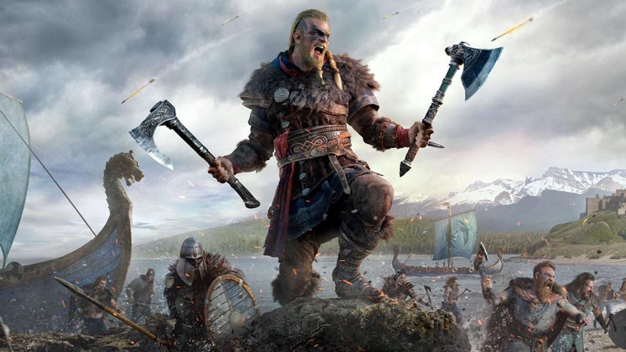 گیم پلی بازی assassins creed valhala