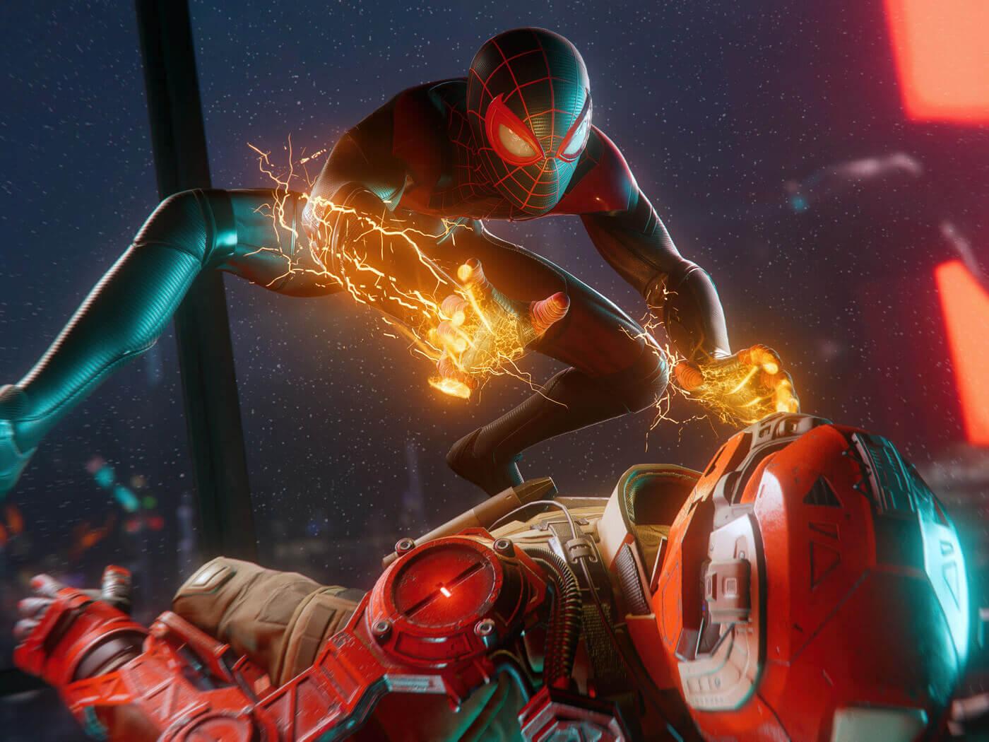 خرید بازی Spiderman Miles Morales برای PS4