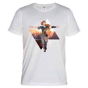 خرید تی شرت با طرح Horizon