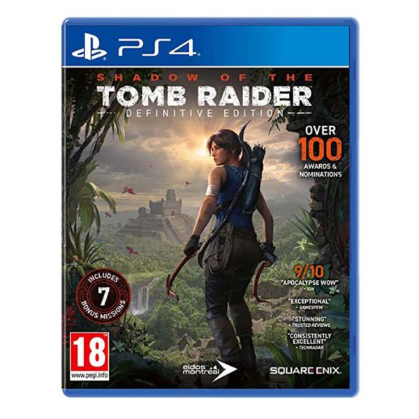 Shadow of the Tomb Raider -PS4