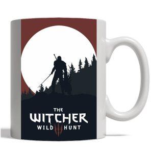خرید ماگ با طرح The Witcher