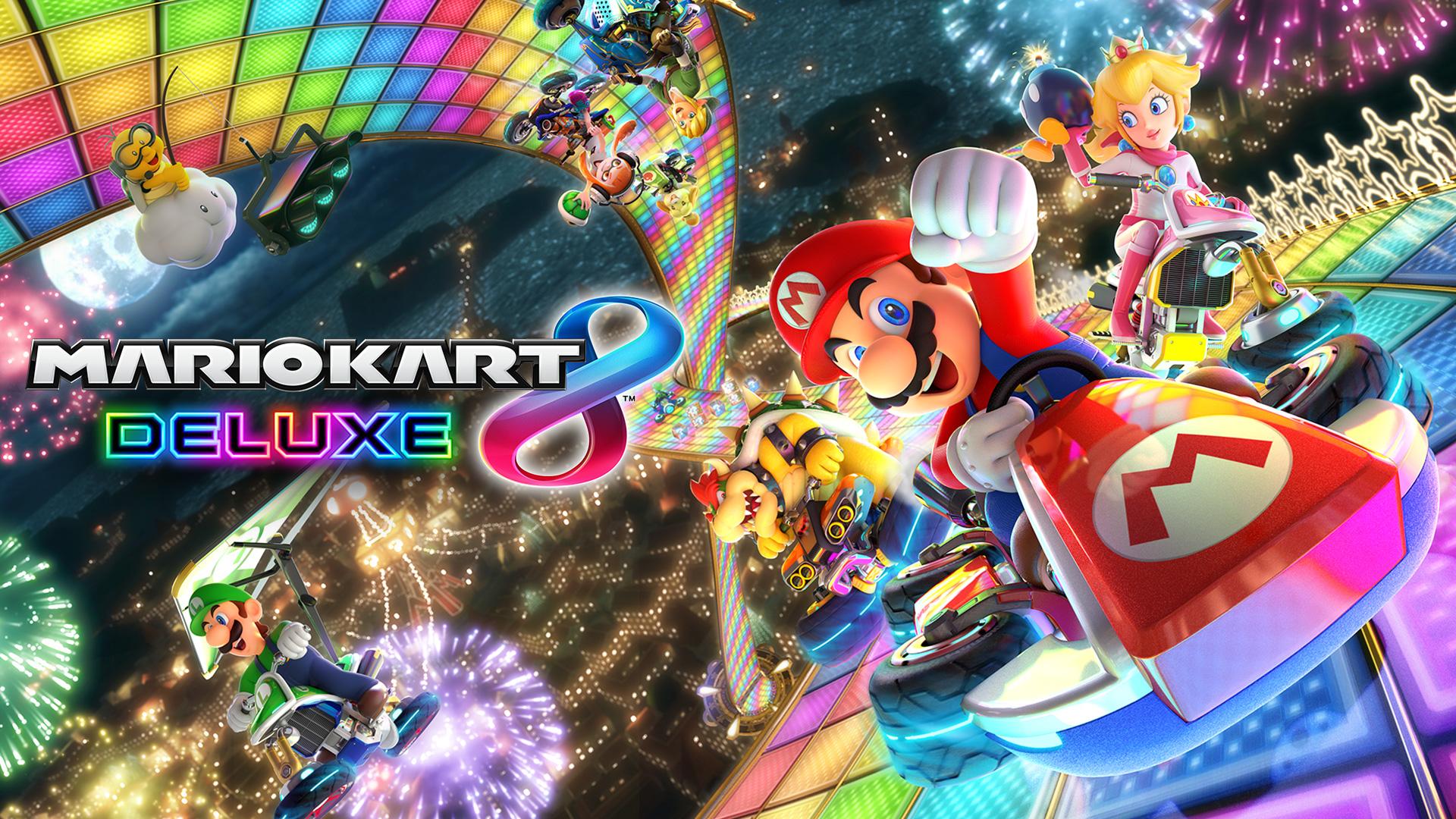 خرید بازی Mario Kart 8 Deluxe - Nintendo switch