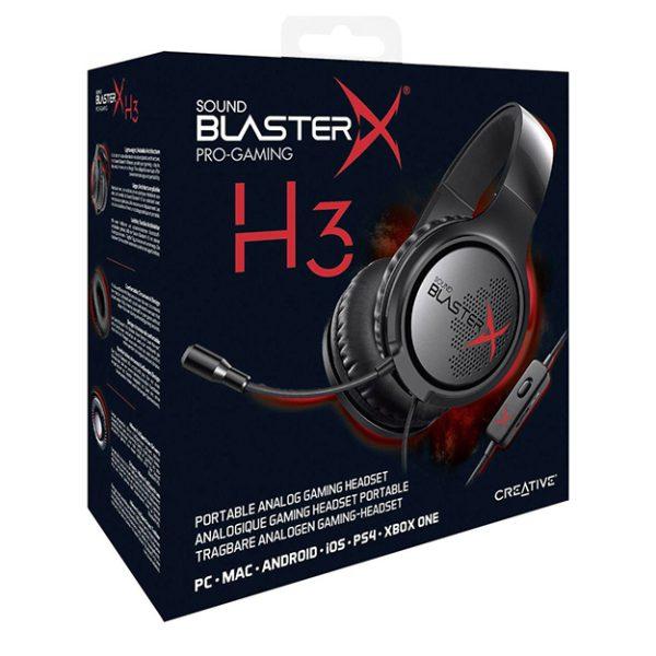 خرید هدست Sound BlasterX H3
