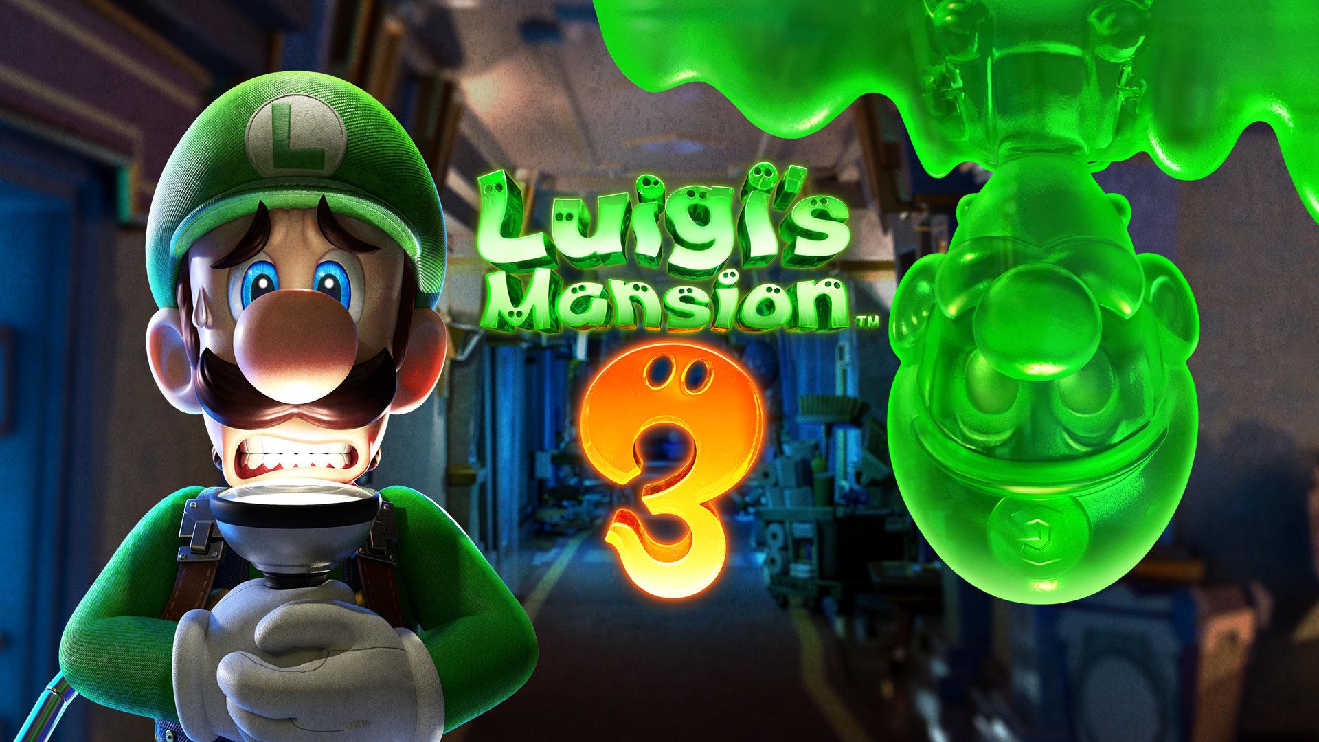 خرید بازی luigis Mansion 3 nintendo switch