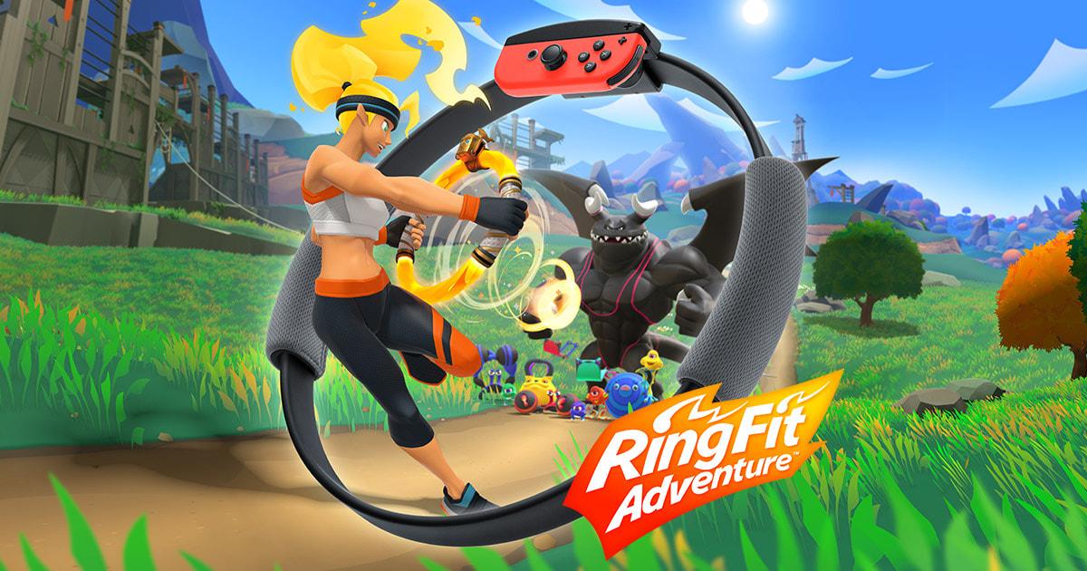 معرفی محصول Nintendo Switch Ring Fit