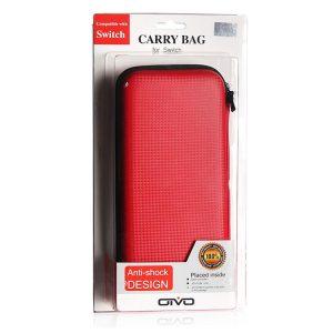 کیف محافظ قرمز Nintendo Switch-Oivo