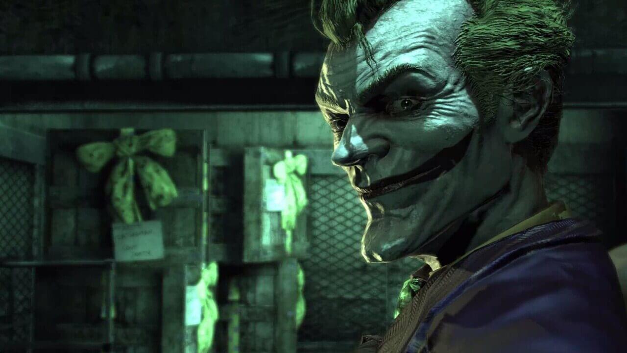 batman arkham asylum joker ds comics
