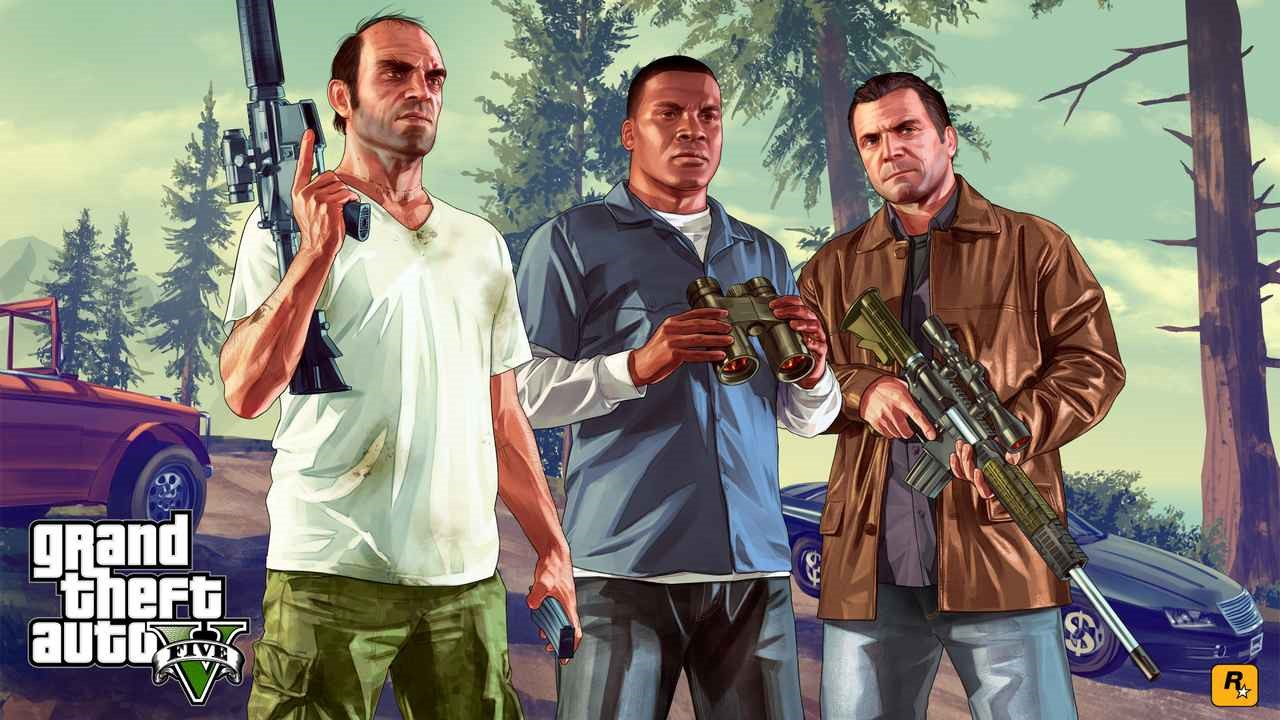 بازی GTA V با رزولوشن 4K
