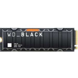 حافظه اس اس دی WD_BLACK SN850 دارای هیت سینک- ظرفیت 500 گیگابایت