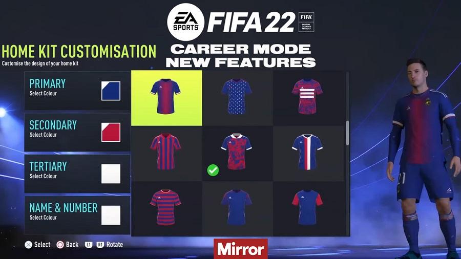 Fifa22 CareerMode